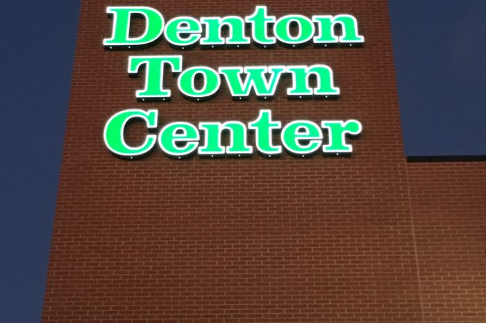 Front Lit Channel Letter on Wall - ExtremeSigns